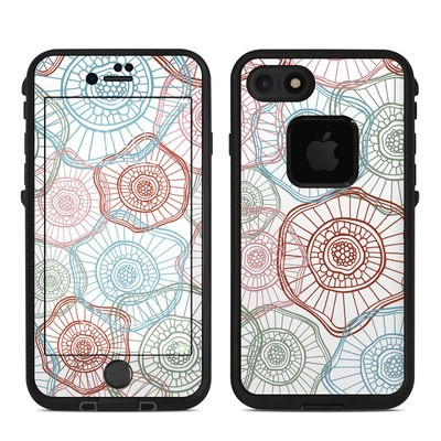 Lifeproof iPhone 7 Fre Case Skin - Micro Flowers