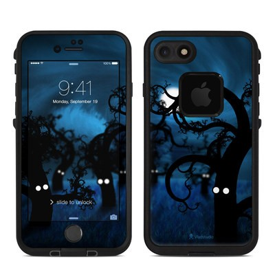 Lifeproof iPhone 7 Fre Case Skin - Midnight Forest