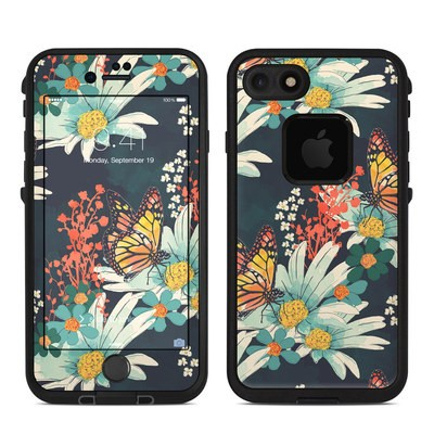Lifeproof iPhone 7 Fre Case Skin - Monarch Grove