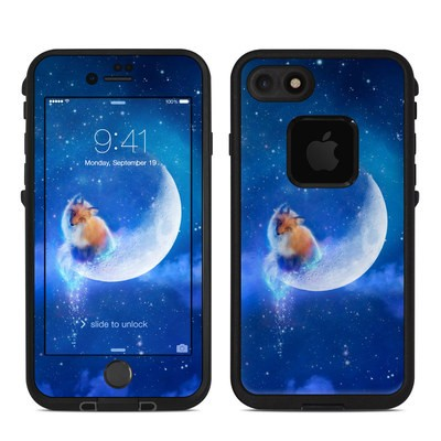 Lifeproof iPhone 7 Fre Case Skin - Moon Fox