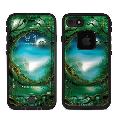 Lifeproof iPhone 7 Fre Case Skin - Moon Tree