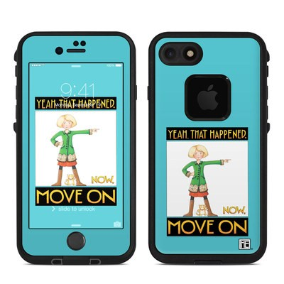 Lifeproof iPhone 7 Fre Case Skin - Move On