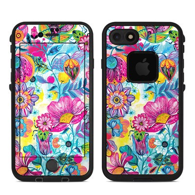 Lifeproof iPhone 7-8 Fre Case Skin - Natural Garden