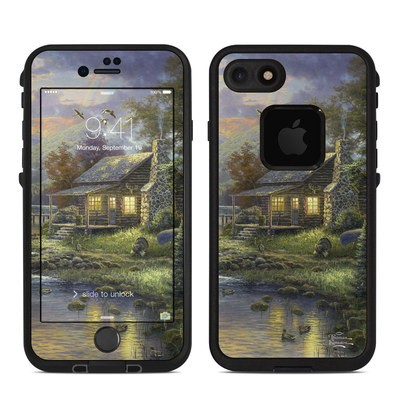 Lifeproof iPhone 7 Fre Case Skin - Natures Paradise