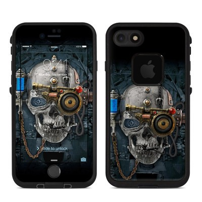 Lifeproof iPhone 7 Fre Case Skin - Necronaut
