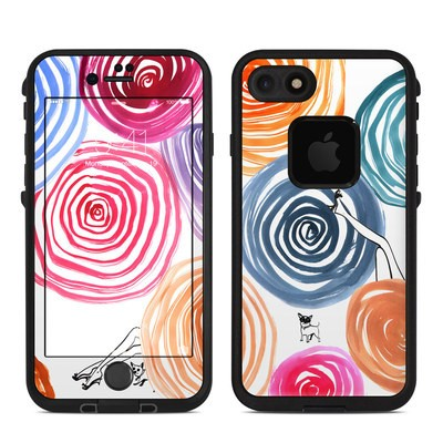 Lifeproof iPhone 7 Fre Case Skin - New Circle
