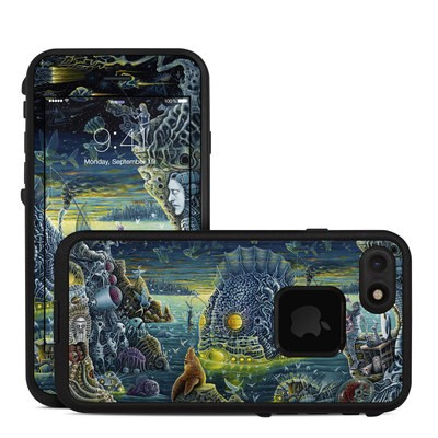 Lifeproof iPhone 7 Fre Case Skin - Night Trawlers