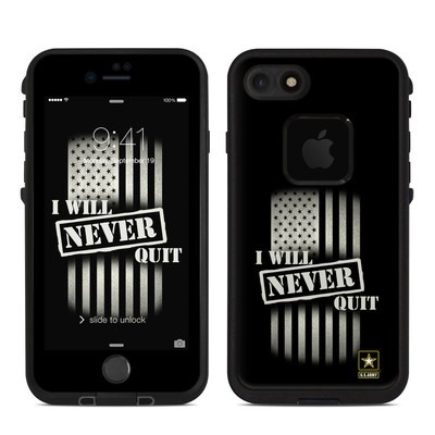 Lifeproof iPhone 7 Fre Case Skin - Never Quit