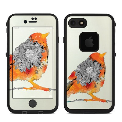 Lifeproof iPhone 7-8 Fre Case Skin - Orange Bird