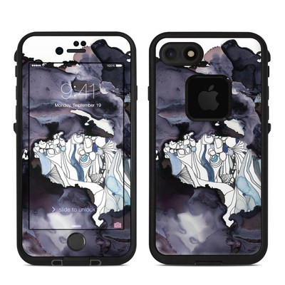 Lifeproof iPhone 7-8 Fre Case Skin - Ocean Majesty