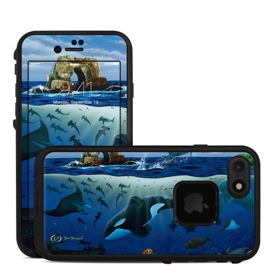 Lifeproof iPhone 7 Fre Case Skin - Oceans For Youth