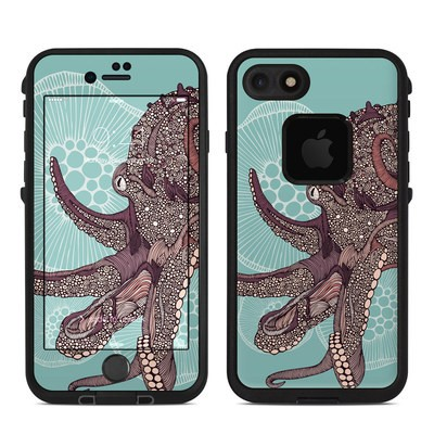 Lifeproof iPhone 7 Fre Case Skin - Octopus Bloom