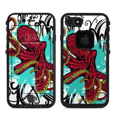 Lifeproof iPhone 7 Fre Case Skin - Octopus