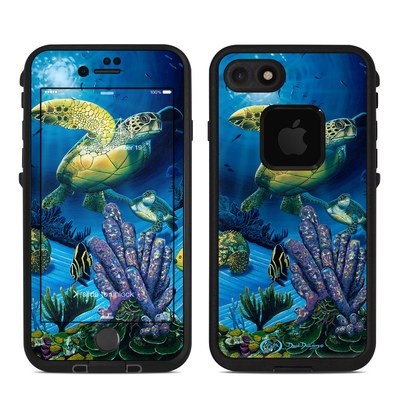Lifeproof iPhone 7 Fre Case Skin - Ocean Fest