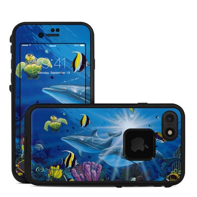 Lifeproof iPhone 7 Fre Case Skin - Ocean Friends