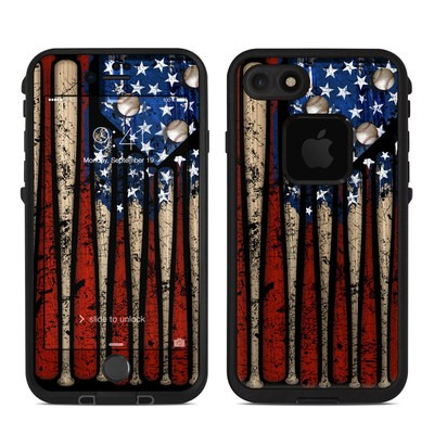 Lifeproof iPhone 7 Fre Case Skin - Old Glory