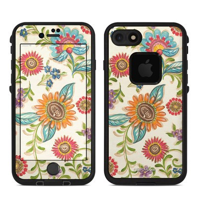 Lifeproof iPhone 7 Fre Case Skin - Olivia's Garden