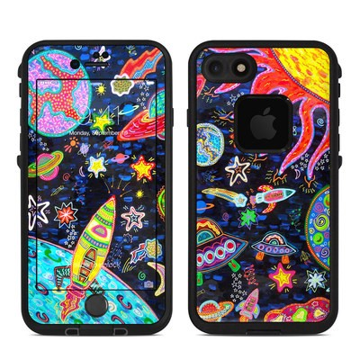 Lifeproof iPhone 7 Fre Case Skin - Out to Space
