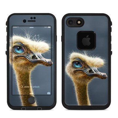 Lifeproof iPhone 7 Fre Case Skin - Ostrich Totem