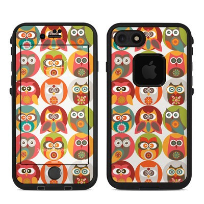 Lifeproof iPhone 7 Fre Case Skin - Owls Family