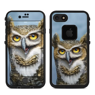 Lifeproof iPhone 7 Fre Case Skin - Owl Totem