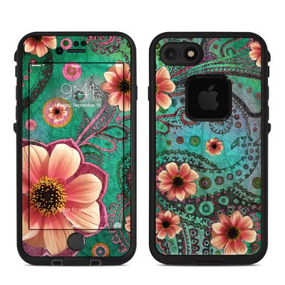 Lifeproof iPhone 7 Fre Case Skin - Paisley Paradise