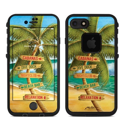 Lifeproof iPhone 7 Fre Case Skin - Palm Signs