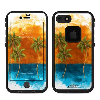 Lifeproof iPhone 7 Fre Case Skin - Palm Trio