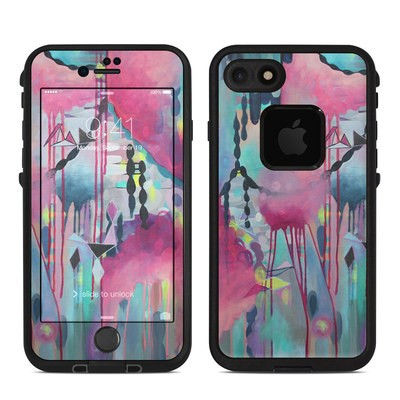 Lifeproof iPhone 7 Fre Case Skin - Paper Chain