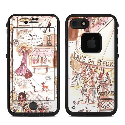 Lifeproof iPhone 7 Fre Case Skin - Paris Makes Me Happy