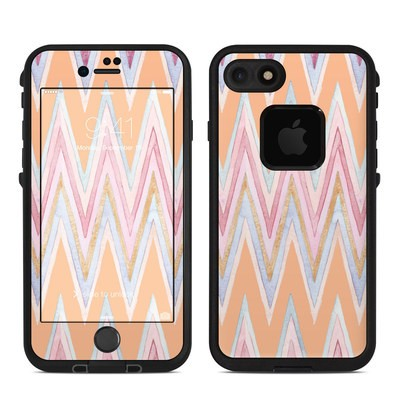 Lifeproof iPhone 7-8 Fre Case Skin - Pastel Chevron