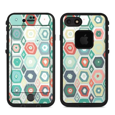 Lifeproof iPhone 7 Fre Case Skin - Pastel Diamond