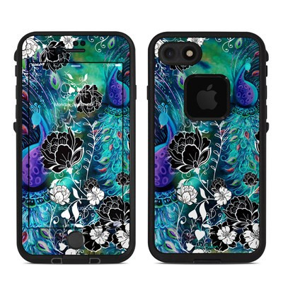Lifeproof iPhone 7 Fre Case Skin - Peacock Garden