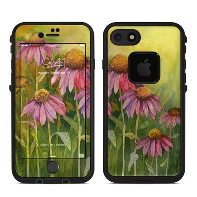 Lifeproof iPhone 7 Fre Case Skin - Prairie Coneflower