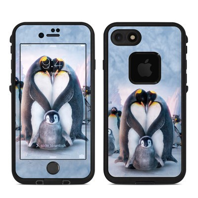Lifeproof iPhone 7 Fre Case Skin - Penguin Heart