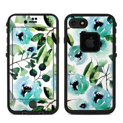 Lifeproof iPhone 7-8 Fre Case Skin - Peonies