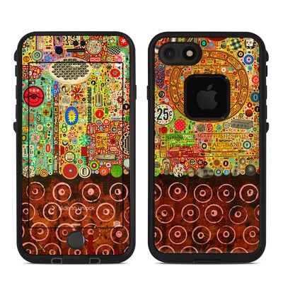 Lifeproof iPhone 7 Fre Case Skin - Percolations