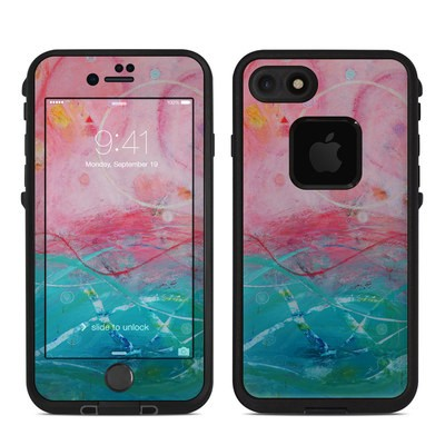 Lifeproof iPhone 7-8 Fre Case Skin - Pink Sky