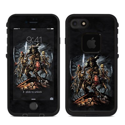 Lifeproof iPhone 7 Fre Case Skin - Pirates Curse