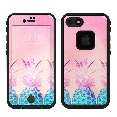 Lifeproof iPhone 7 Fre Case Skin - Pineapple Farm