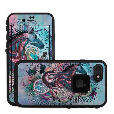 Lifeproof iPhone 7 Fre Case Skin - Poetry in Motion