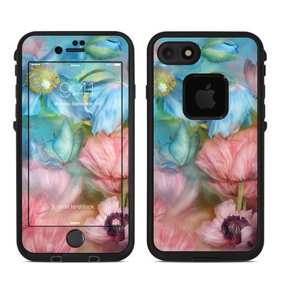 Lifeproof iPhone 7 Fre Case Skin - Poppy Garden