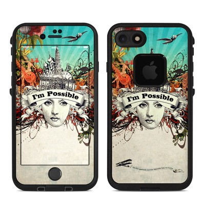 Lifeproof iPhone 7 Fre Case Skin - Possible