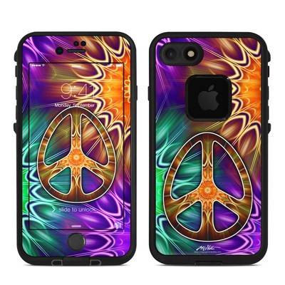 Lifeproof iPhone 7 Fre Case Skin - Peace Triptik
