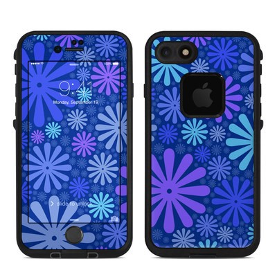 Lifeproof iPhone 7 Fre Case Skin - Indigo Punch