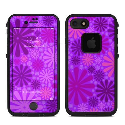 Lifeproof iPhone 7 Fre Case Skin - Purple Punch
