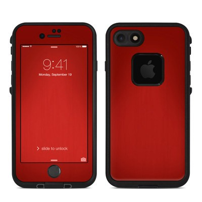 Lifeproof iPhone 7 Fre Case Skin - Red Burst