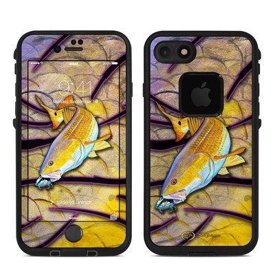 Lifeproof iPhone 7 Fre Case Skin - Red Fish