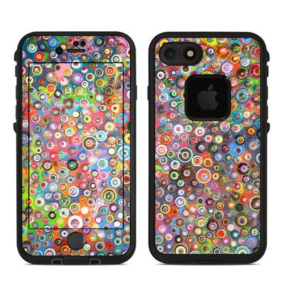 Lifeproof iPhone 7 Fre Case Skin - Round and Round
