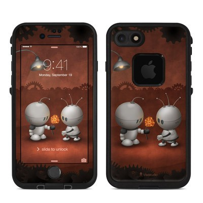 Lifeproof iPhone 7 Fre Case Skin - Robots In Love